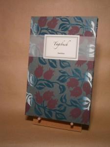 Hand-Buch mit Siebdruck