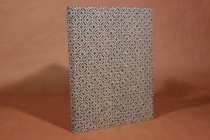 Blankobuch Din A 4 in Leinen mit Sibdruck