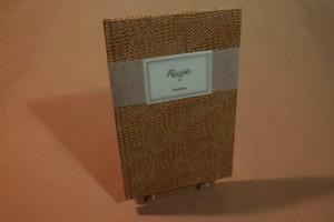 HandBuch, blanko 12 x 18,5 cm