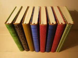 Edelpappbände mit Kleisterpapier von Tanja Karipidis Buntpapier Manufaktur